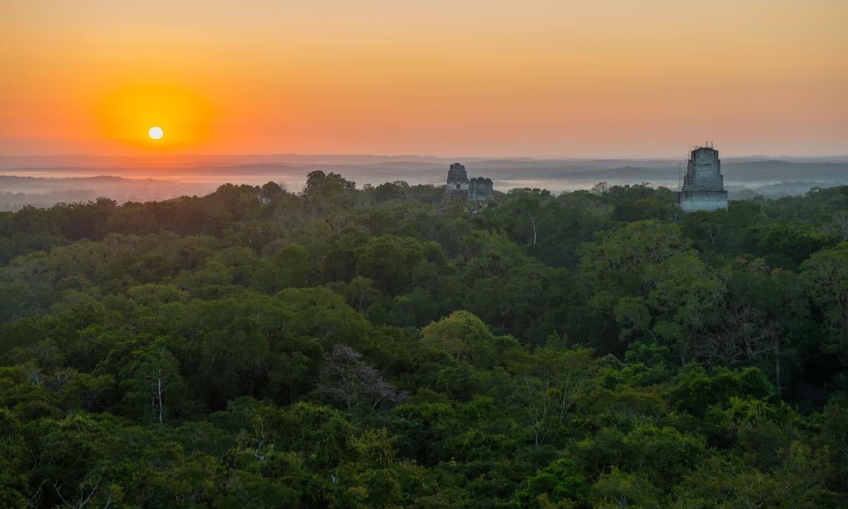 Tikal Mexico