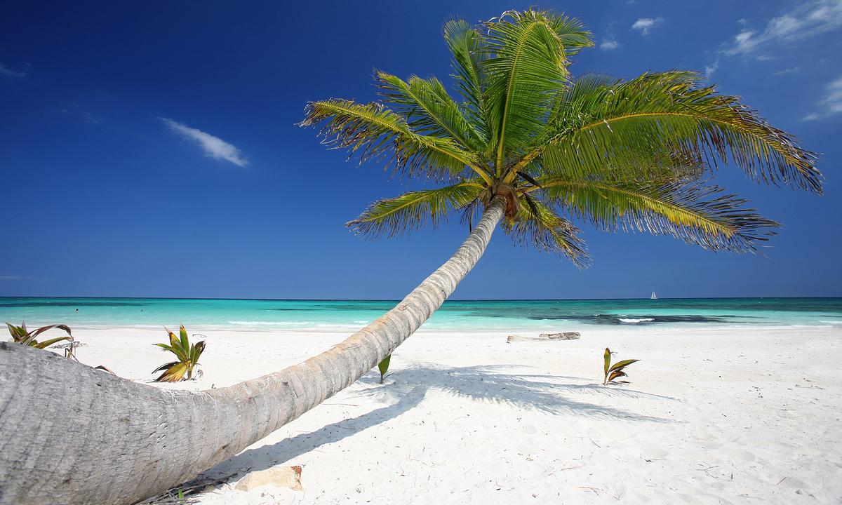 Pláž v Mexiku
