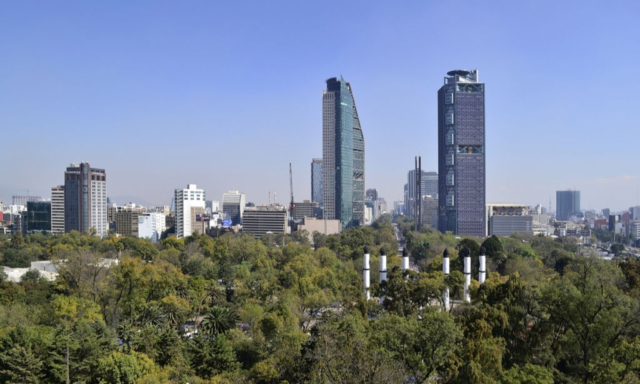 Výlet do Mexico City