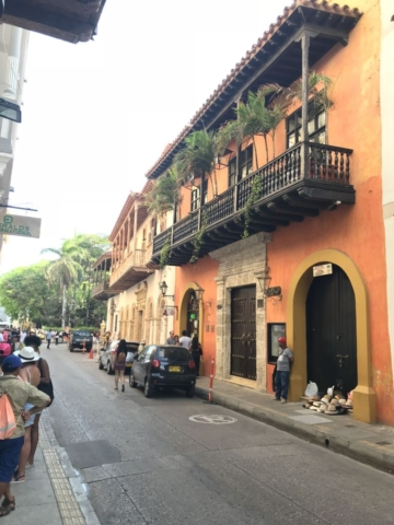 Kolumbijské ulice